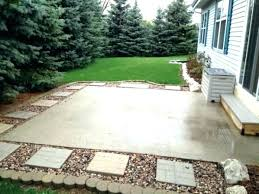 Backyard Concrete Designs Stunning Backyard Concrete Patio Ideas Detoxiconline