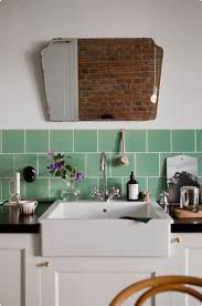 Tiles For Kitchens Mint Green Kitchen Tiles Retro Mint Green Kitchen Kitchen