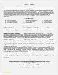 Field Service Technician Resume Examples Free Resume Examples