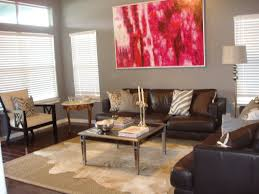 rugs art painting design for living room with cowhide rug ikea