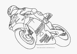 5 Dessins De Coloriage Motos Imprimer