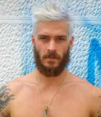 Modele Coiffure Homme Cheveux Blancs Coiffures à La Mode