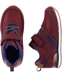 Oshkosh Toddler Shoe Size Chart Oshkosh Logo Athletic Sneakers Carters Com