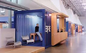 container office design. LA Warehouse Office Is A Shipping Container City   Inhabitat - Green Design, Innovation, Architecture, Building Design I