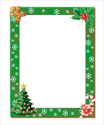 Free Christmas Stationery Templates For Word Jordanhomes Me