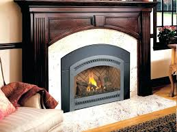 cost to install a fireplace insert cost to install natural gas fireplace insert run average installation