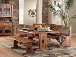 Bench Style Kitchen Tables Salem 4 Piece Breakfast Nook Dining Room Set Table Corner Bench