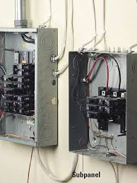 electrical sub panel wiring electrical image evaluating your home s electrical loads planning new electrical on electrical sub panel wiring