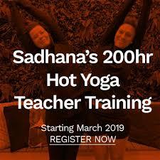 sadhanas hot yoga teacher