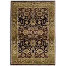 purple and gold rug green oriental weavers generations area