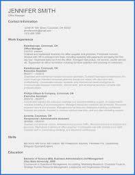 Job Resume Templates Free First Time Job Resume Inspirational First