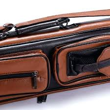 leather pool cue cases holes case handmade