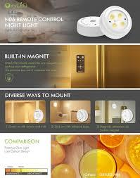 Amazon Com Wireless Led Puck Lights Oxyled Closet Light