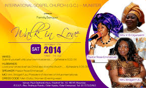 church invitation flyers international gospel church