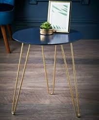 malvern hairpin leg side table living
