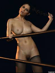 UFC Brazil Ring Girl Aline Franzoi Nude Playboy Photos