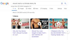 to bulk and cut for skinny fat woman
