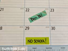 easy calendars washi tape tricks and easy calendars the teacher studio