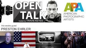 Open Talk with Travis Keyes   guest Preston Ehrler - YouTube