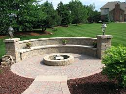 building a stone patio building fire pit on paver patio mindyapp