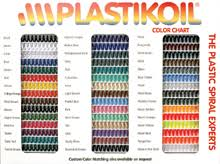Spiral Binding Plastic Coils Manufacturer Plastikoil 1