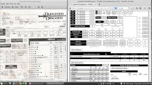 dnd 3 5 character sheet ttorp dnd 3 5e character sheet part 2 youtube
