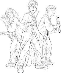 Volwassen Kleurplaten Harry Potter Leuk Voor Kids Harry Potter