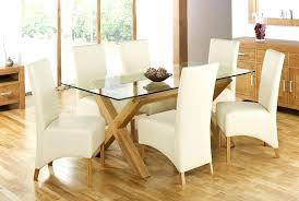 sophisticated glass dining table glass top oak dining tables glass dining table set for 6