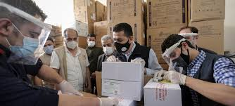 syria receives first covid 19 vaccines