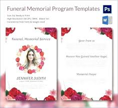 Memorial Pamphlet Template Free Funeral Pamphlet Template Booklet Publisher Program Templates