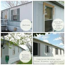 replacement exterior door for mobile home. my heart\u0027s song: mobile home exterior - before/after replacement door for