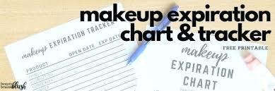 Makeup Expiration Chart Check Makeup Expiration Okbrin Org