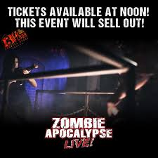 13th floor denver on twitter tickets go on at 12pm for zombie apocalypse live expected to sell out in first hour s t co mqpq9urioh