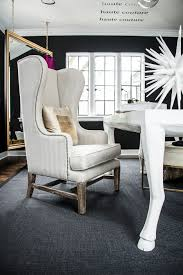 eclectic design home office. Plain Home Fashion Blogger Transitional Black And White Home Office Inspiration Ideas  Gold Hanging Mirrors Walk In Closet Susan Brunstrum Design To Eclectic Home Office