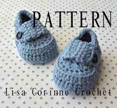 Crochet Baby Shoes Pattern Inspiration Baby Booties Crochet PATTERN Baby Loafers Crochet Booties Free
