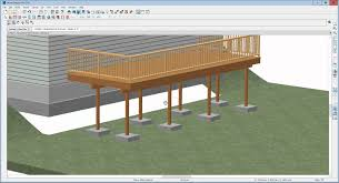 Small Picture How to edit deck posts and footings in Home Designer Pro 2016