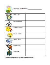 Image Result For Daily Routine Chart For Adults Morning