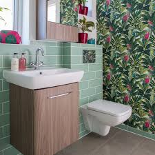 Image Design Bathroom Wallpaper Ideas Bold Botanical Print Ideal Home Bathroom Wallpaper Ideas Waterproof Bathroom Walllpaper Ideas