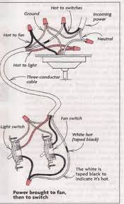 3 way switch power feed via the light multiple lights how ceiling fan switch wiring diagram