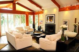 best paint design for vaulted ceiling