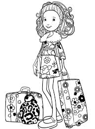 Small Picture Groovy Girls Going To Travel Coloring Pages Free Printable