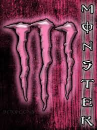 pink monster energy logo wallpaper. Modren Logo MONSTER ENERGY PINK BACKGROUND Throughout Pink Monster Energy Logo Wallpaper
