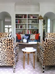 printed chairs living room. the newest (and possibly best) thing i\u0027ve ever designed: leopard chairs printed living room