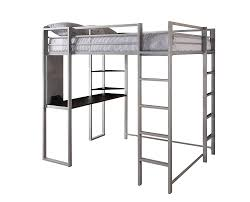 full size loft white twin over bunk with desk and storage frame wood canada marvelous bed