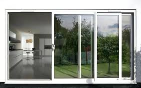 frosted sliding glass doors panel with aluminum frame brisbane frosted sliding glass doors