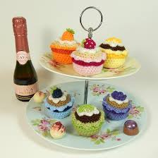 Crochet Cupcake Pattern New Everything Cupcakes To Crochet Free Patterns Grandmother's