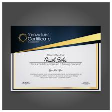 Certificate Of Appreciation Free Download Modern Company Certificate Of Appreciation Vector Free Download