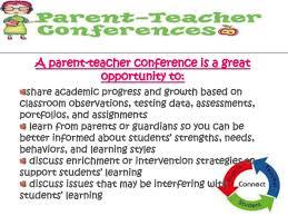 parent teacher conference letter to parents examples parent teacher conference