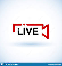 Live Streaming Logo - Red Vector Design Element For News And TV Or Online  Broadcasting. Live Stream Icon, Badge. Online Streaming Stock Vector -  Illustration of networklive, direction: 189854467