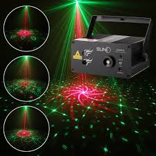 Laser Light Projector Details About Suny 3 Lens Laser Light Rg Led Lighting Projector Blue Led Xmas Dj Stage Red New